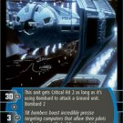#201 TIE Bomber EX-1-2 Star Wars TCG (ESB common)