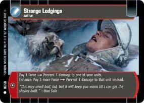 #197 Strange Lodgings Star Wars TCG (ESB common)