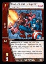 Korath the Pursuer, Starforce (C) MHG-052 Marvel Heralds of Galactus VS System TCG