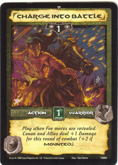 Charge into Battle (U) Conan CCG