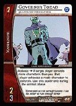 Governor Tozad, Planetary Commander (U) DGL-111 Green Lantern Corps DC VS System TCG