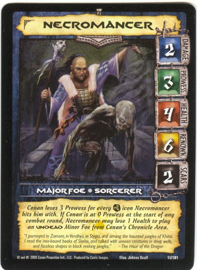 Necromancer (U) Conan CCG