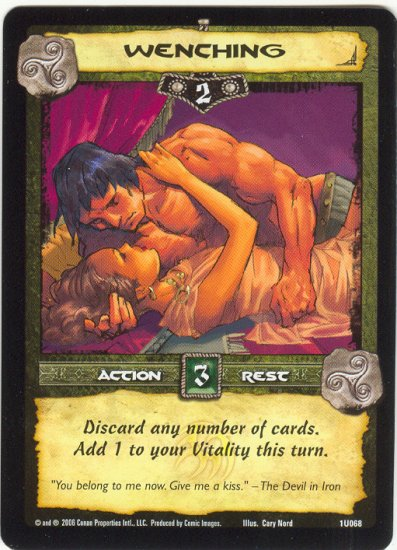 Wenching (U) Conan Collectible Card Game