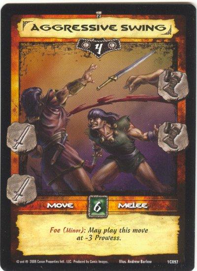 Aggressive Swing (C) Conan CCG