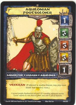 Aquilonian Footsoldier (VC) Conan CCG