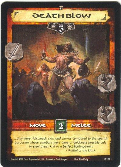 Death Blow (C) Conan CCG