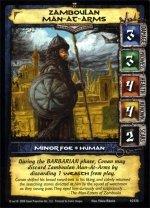 Zamboulan Man-At-Arms (C) Conan Collectible Card Game