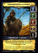 Zamboulan Guard (VC) Conan Collectible Card Game