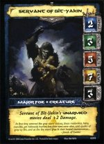 Servant of Bit-Yakin (C) Conan CCG