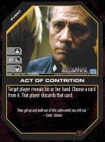 Act of Contrition BSG-009 (C) Battlestar Galactica CCG