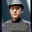 #72 Admiral Firmus Piett (A) (ESB uncommon) Star Wars TCG