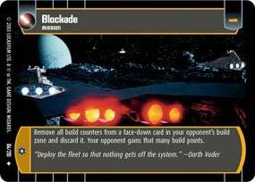 #84 Blockade (ESB uncommon) Star Wars TCG
