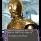 #86 C-3PO (F) (ESB uncommon) Star Wars TCG