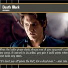 #91 Death Mark (ESB uncommon) Star Wars TCG