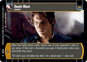 #91 Death Mark (ESB uncommon) Star Wars TCG