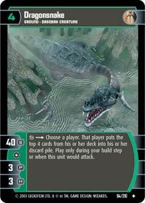 #94 Dragonsnake (ESB uncommon) Star Wars TCG