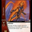Koriand'r as Starfire, Royal Temper (C) DWF-095 DC World's Finest VS System TCG