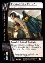 Cassandra Cain, Death's Daughter (C) DWF-067 DC World's Finest VS System TCG
