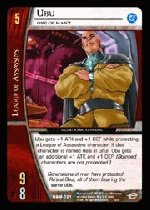 Ubu, One of Many (C) DBM-021 DC Batman VS System TCG
