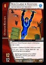 Dick Grayson as Nightwing, Defender of Blüdhaven (C) DBM-007 DC Batman VS System TCG