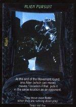 Alien Pursuit (F) Aliens Predator CCG Premiere Edition