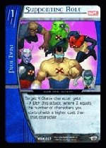 Supporting Role FOIL (C) MMK-087 Marvel Knights VS System TCG