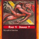 Spine Crushed Combat R Rage CCG Limited Edition