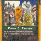 Praise the Malformed Moot/Action R Rage CCG Limited Edition