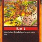 Evasion Combat R Rage CCG Limited Edition