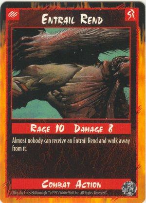 Entrail Rend Combat R Rage CCG Limited Edition