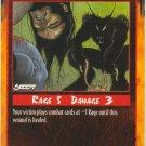 Disembowelment Combat R Rage CCG Limited Edition