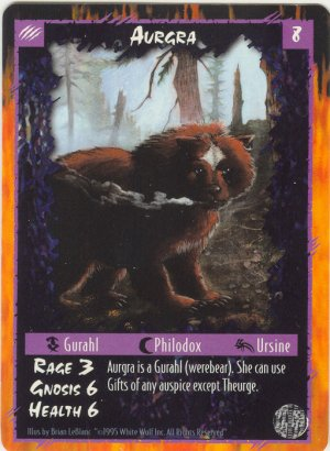 Aurgra Character R Rage CCG Limited Edition