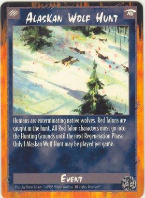 Alaskan Wolf Hunt Event R Rage CCG Limited Edition