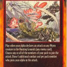 Attacking the Wyrm Combat C Rage CCG Limited Edition