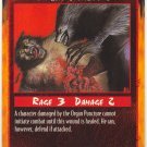 Organ Puncture Combat U Rage CCG Limited Edition