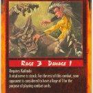 Nerve Cluster Combat U Rage CCG Limited Edition