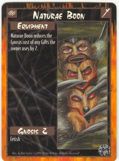 Naturae Boon Equipment U Rage CCG Limited Edition
