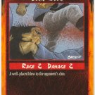 Solid Blow Combat C Rage CCG Limited Edition
