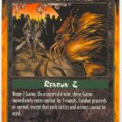 Ritual Challenge Moot C Rage CCG Limited Edition