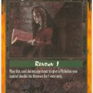 Quoting the Litany Moot/Action U Rage CCG Limited Edition