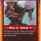 Overextended Attack Combat C Rage CCG Limited Edition