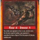 Vital Blow Combat U Rage CCG Limited Edition