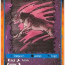 Thunder Tiger Character U Rage CCG Limited Edition