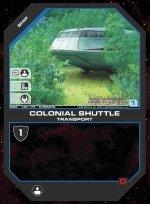 Colonial Shuttle BSG-146 (C) Battlestar Galactica CCG