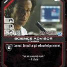 Dr. Baltar, Science Advisor BSG-118 (C) Battlestar Galactica CCG