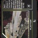 Flattop BSG-006 (U) Battlestar Galactica CCG