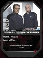 Formal Dress Function BSG-069 (C) Battlestar Galactica CCG
