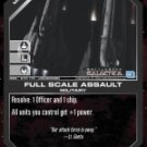 Full Scale Assault BSG-070 (U) Battlestar Galactica CCG