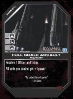 Full Scale Assault BSG-070 (U) Battlestar Galactica CCG