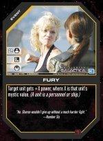 Fury BSG-028 (C) Battlestar Galactica CCG